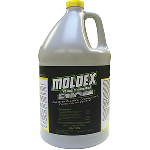 MOLDEX Mold Inhibitor and Disinfectant, Gallon