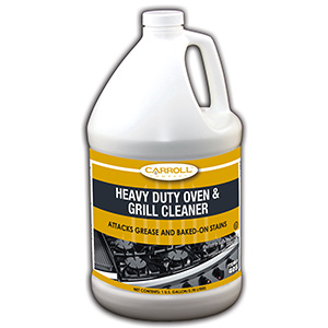 CarrollCLEAN Heavy-Duty Oven and Grill Cleaner Gallon