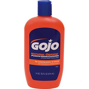 GoJo Natural Orange Hand Cleaner, 14 oz Bottle