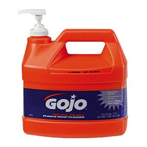 GoJo Natural Orange Hand Cleaner, Gallon