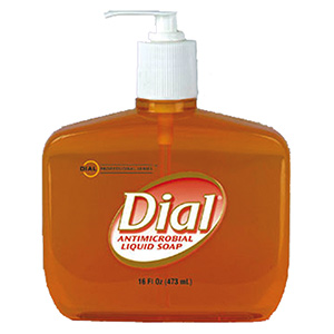 Dial Antibacterial Hand Soap 16 oz Pump Bottle