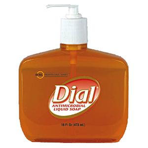 Dial Antibacterial Hand Soap 16 oz Pump Bottle