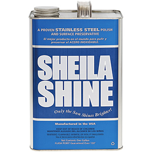 Shelia Shine Stainless Steel Polish 32 oz Container