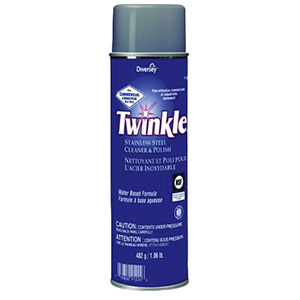 Twinkle Water-Based Stainless Steel Cleaner and Polish