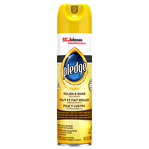 Pledge Lemon Furniture Polish 14.2 oz Aerosol
