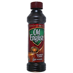Old English Wood Scratch Cover 8 oz Dark Wood Cover
