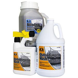 Nilodor Chute & Dumpster Deodorizing Wash Kit