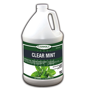 CarrollCLEAN Clear Mint Disinfectant Gallon