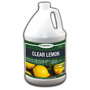 CarrollCLEAN Clear Lemon Disinfectant Gallon