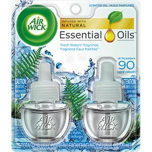 Air Wick Warmer Refills Fresh Waters 2/PK, 640112