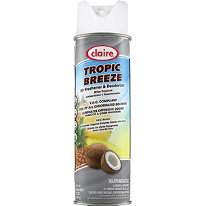 Claire Tropic Breeze Dry Air and Fabric Deodorizer