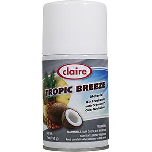 Claire Dispenser Refills Tropical Breeze