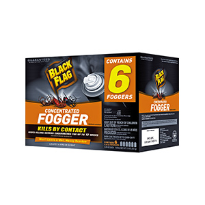 Black Flag Dual Action Concentrated Indoor Insect Fogger