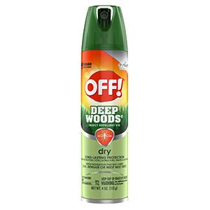 Off! Deep Woods Dry Formula 4 oz Aerosol