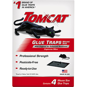 Glue Traps for Mice & Rats 4/Pk