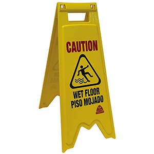 O'Cedar Wet Floor Sign Wet Floor Sign