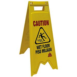 O'Cedar Wet Floor Sign Wet Floor Sign