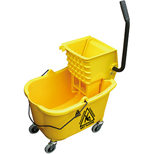 O'Cedar Mop Bucket and Wringer Combo 35 Qt Mop Bucket