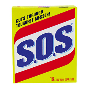 S.O.S. Steel Wool Soap Pads Steel Wool Soap Pads