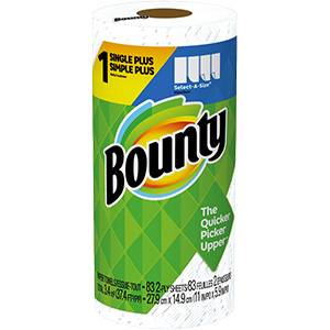 Bounty Premium Roll Paper Towels