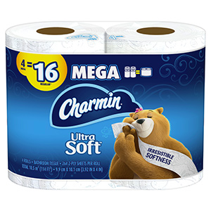 Charmin Ultra Soft Toilet Tissue