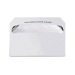 Hospital Specialty Co. Toilet Seat Covers White