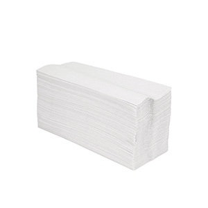 Tork Multifold Paper Towels — 100% Recycled Natural White