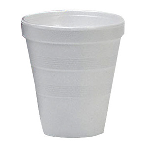 Styrofoam Hot/Cold Cups 8 oz