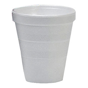 Styrofoam Hot/Cold Cups 16 oz