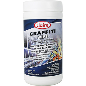 Claire Graffiti Wipes 40 Wipes