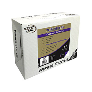 Merit Pro White Terry/Turkish Cloth Rag Terry Cloth Rags