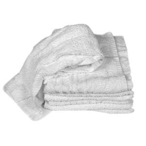 "Monarch Cloth Rags 16"" x 19"" White"