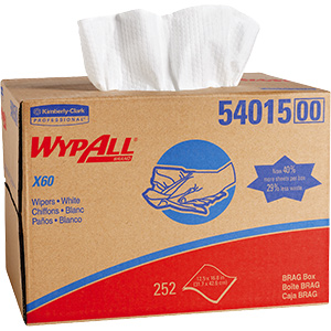 Wypall X60 Teri Reinforced Wipes 252/Bx