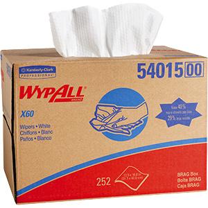 Wypall X60 Teri Reinforced Wipes 252/Bx