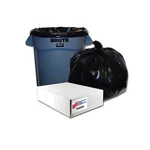 31-33 Gallon Heavy Duty Low Density Trash Bag Case of 150