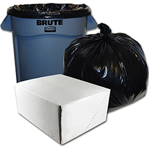31-33 Gallon 70% Recycled Material Liners Box of 100