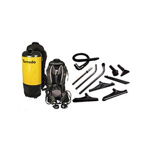 Tornado PAC-VAC Aircomfort Backpack Vacuum