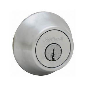 Kwikset 660 Single Cylinder Deadbolt Satin Chrome