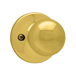 Kwikset Polo Dummy Knob Polished Brass