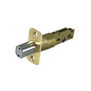 Deadbolt Latch Polished Brass