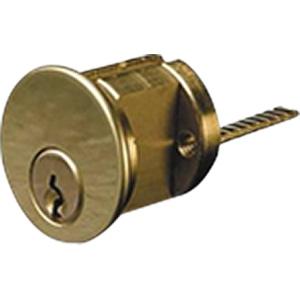 Ilco Rim Cylinder Kwikset Keyway Polished Brass