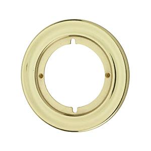 "Kwikset Round Trim Rosette 3-3/16"" Polished Brass"