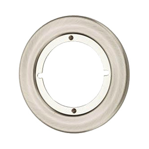 "Kwikset Round Trim Rosette 3-3/16"" Satin Chrome"