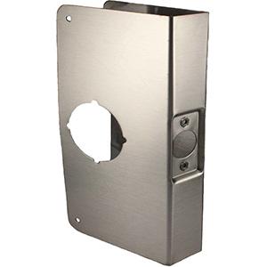 """Door Reinforcer Oversized 3-7/8"""" x 9"""" Stainless Steel"""
