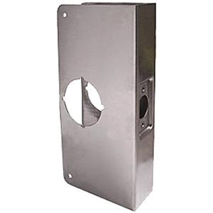 """Door Reinforcer Oversized 4-5/16"""" x 9"""" Stainless Steel"""