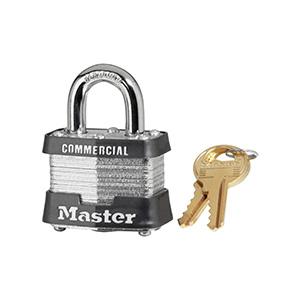 Master Lock # 1KA Padlock Keyed Alike #2001