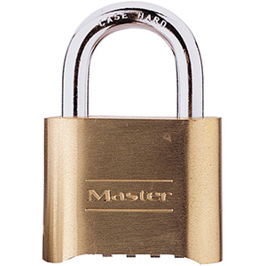 Master Lock # 175 Resettable Padlock Combination