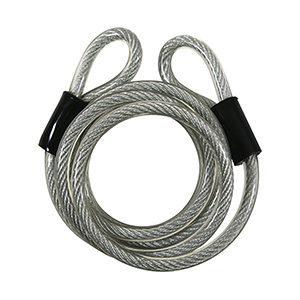 """Steel Looped Cable with Vinyl Cover 72"""""""