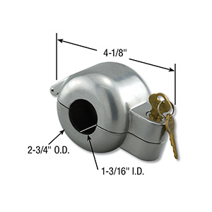 Entry Door Lockout Device