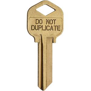 Kwikset Control Key Blank for 816 Deadbolt